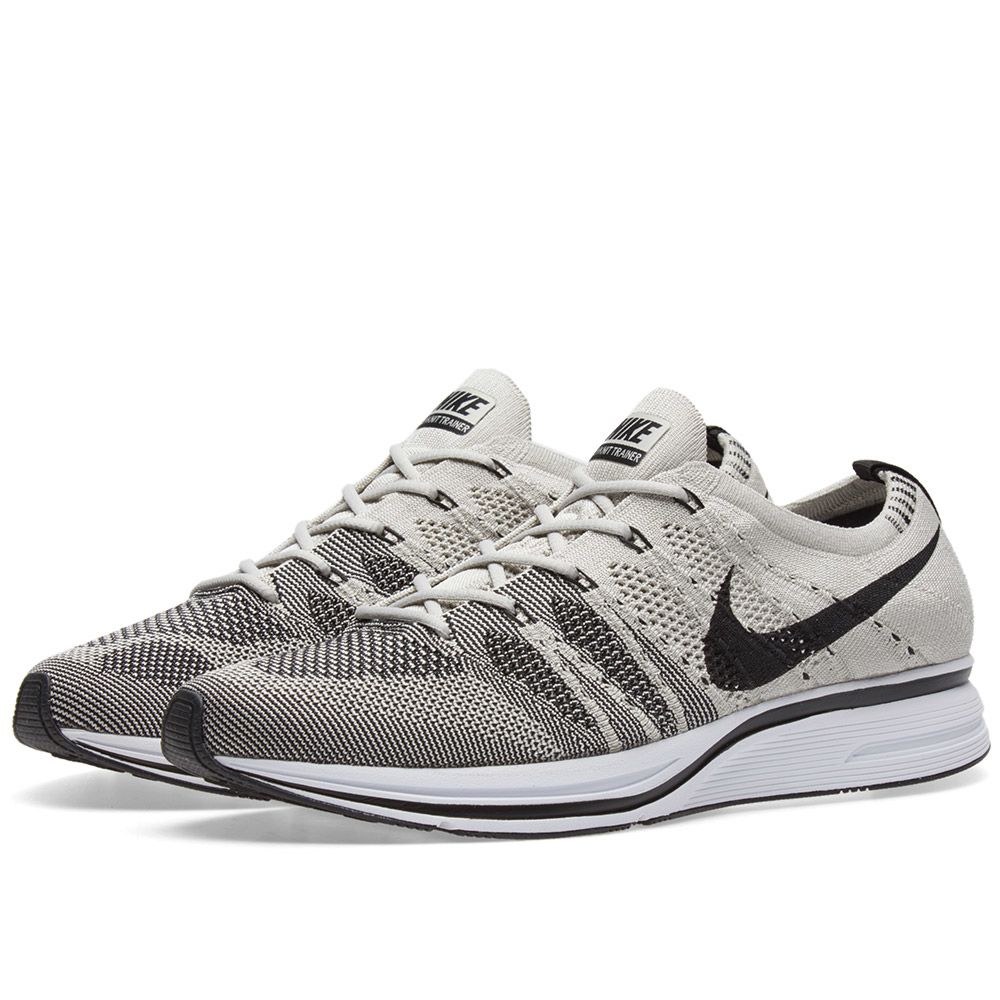 b5bd230106597b Nike Flyknit Trainer Pale Grey   Black