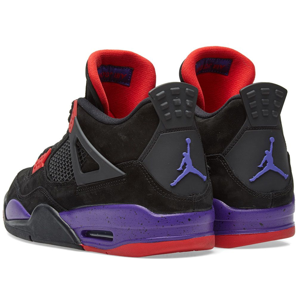 d5d14ec677ba7 Air Jordan 4 Retro Raptors Black