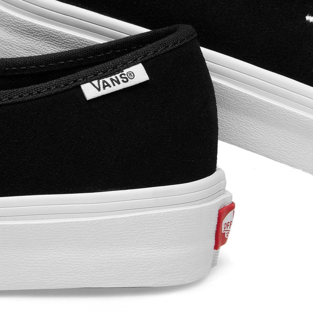 8289737334e Vans Vault Authentic One Piece Circle V Black