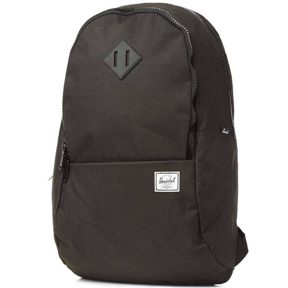 dcc5cf6d931 Herschel Supply Co. Nelson Backpack Black   Black Rubber