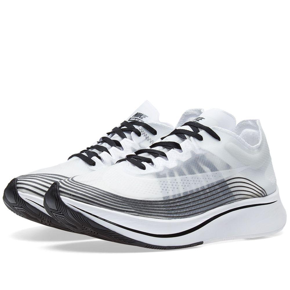 a8257378000374 NikeLab Zoom Fly White   Black