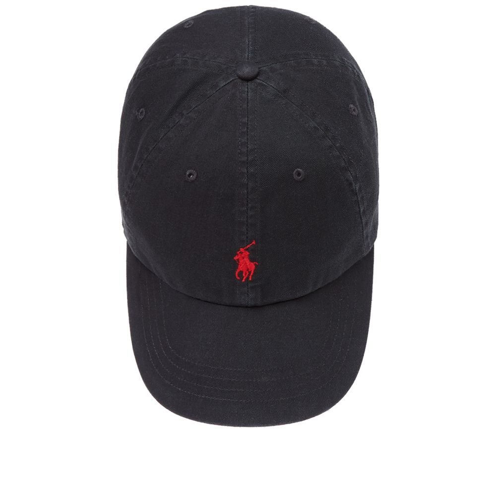 Polo Ralph Lauren Classic Baseball Cap Black   Red  a3e48deae6e