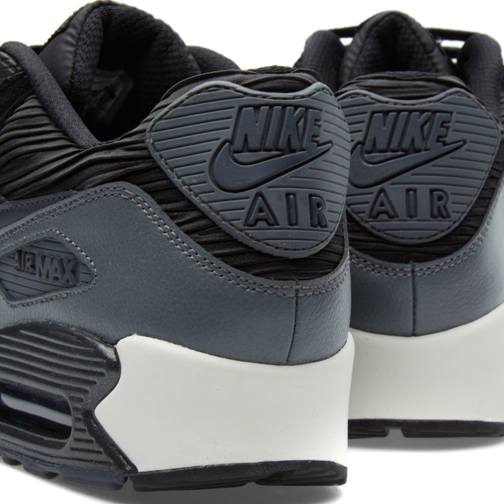 Nike W Air Max 90 Leather. Black   Metallic Hematite. £97 £65. image eaccaf5fdd