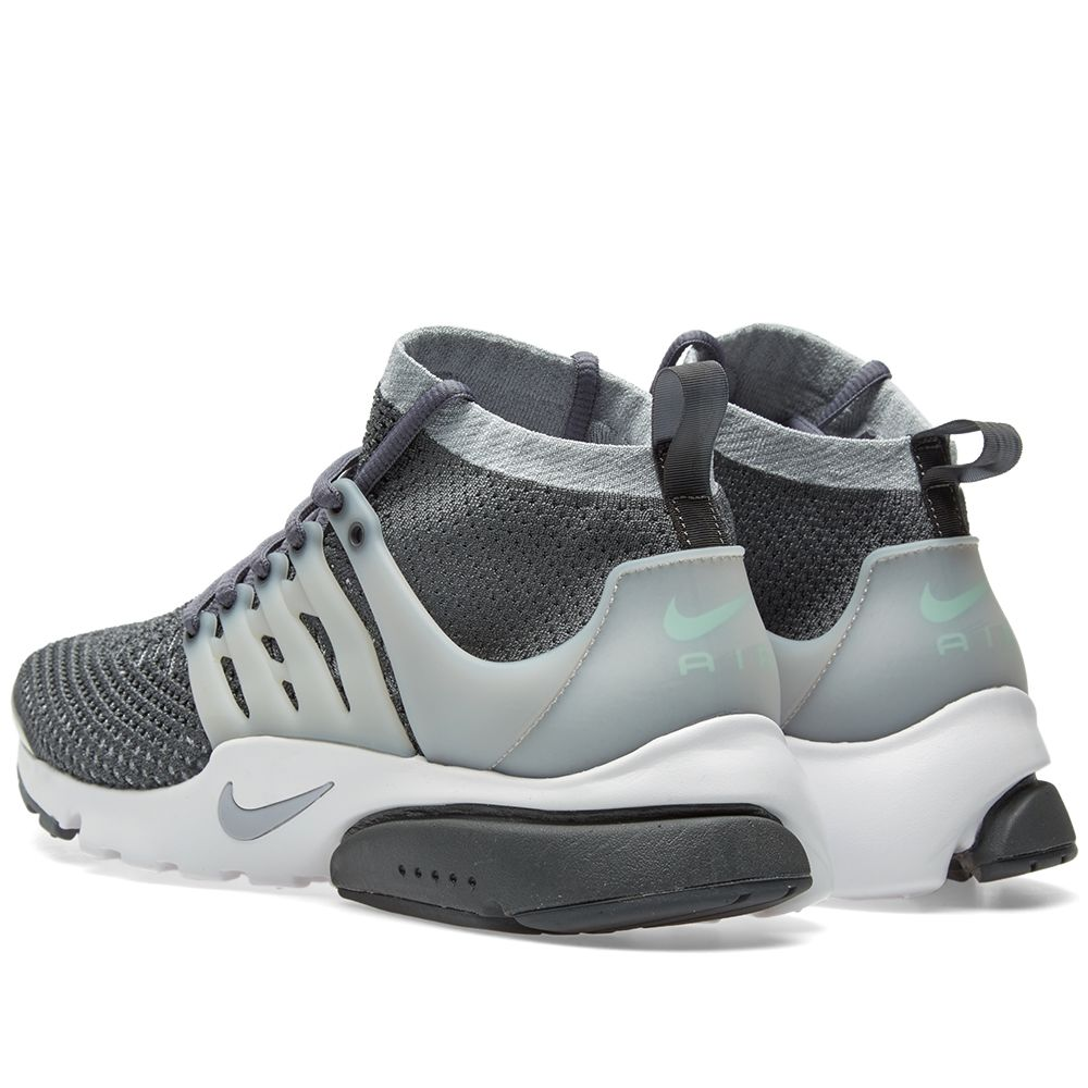 5b49a9557883 Nike Air Presto Ultra Flyknit Dark Grey   Wolf Grey