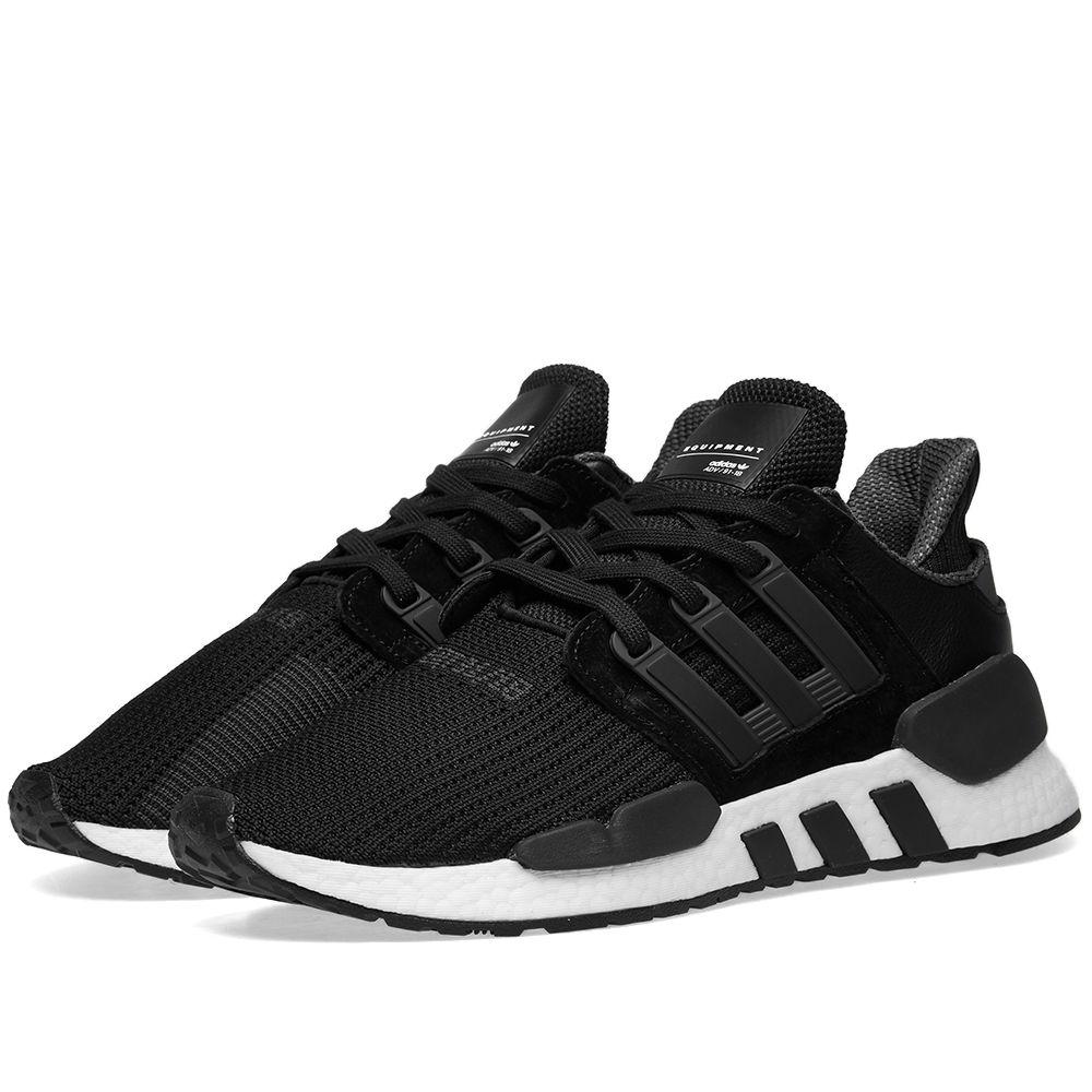 0bac3a36eed8da Adidas EQT Support 91 18 Core Black   Future White