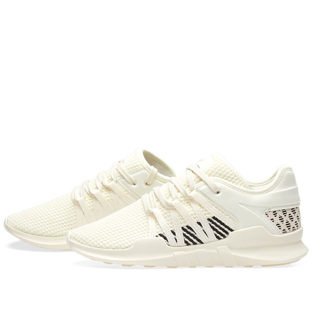 online store df01f 5d3bd Adidas EQT Racing ADV W Off White  Core Black  END.