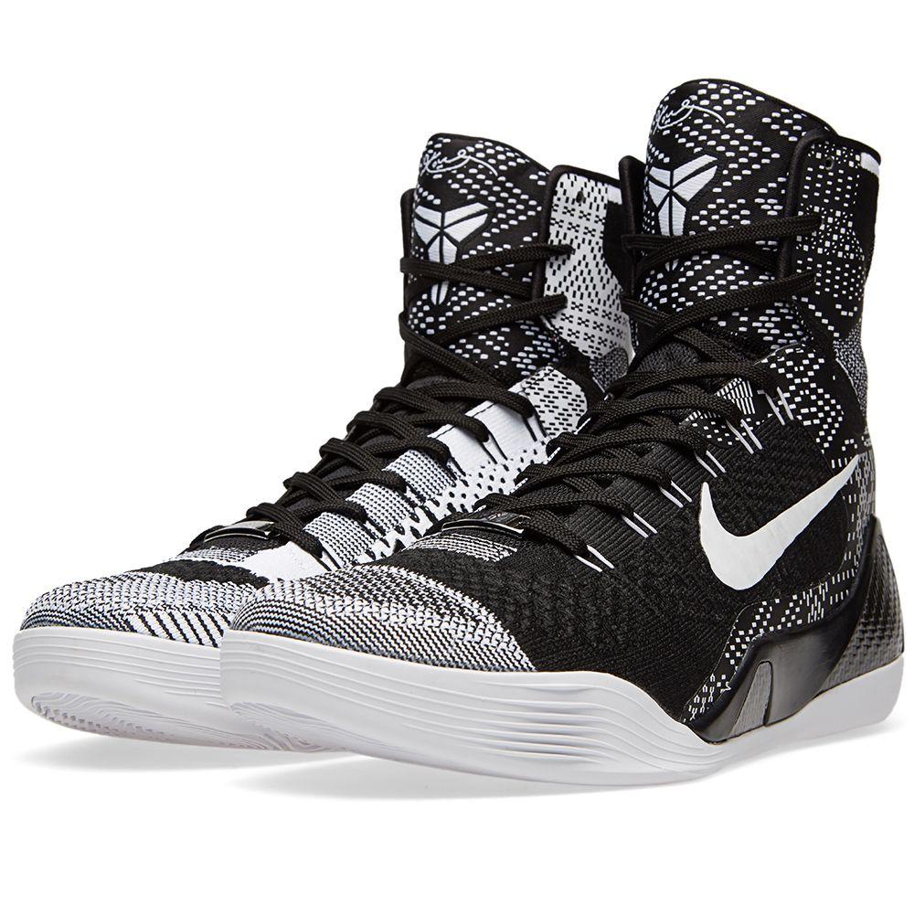 big sale 852fe 5be01 Nike Kobe IX Elite BHM Black   White   END.