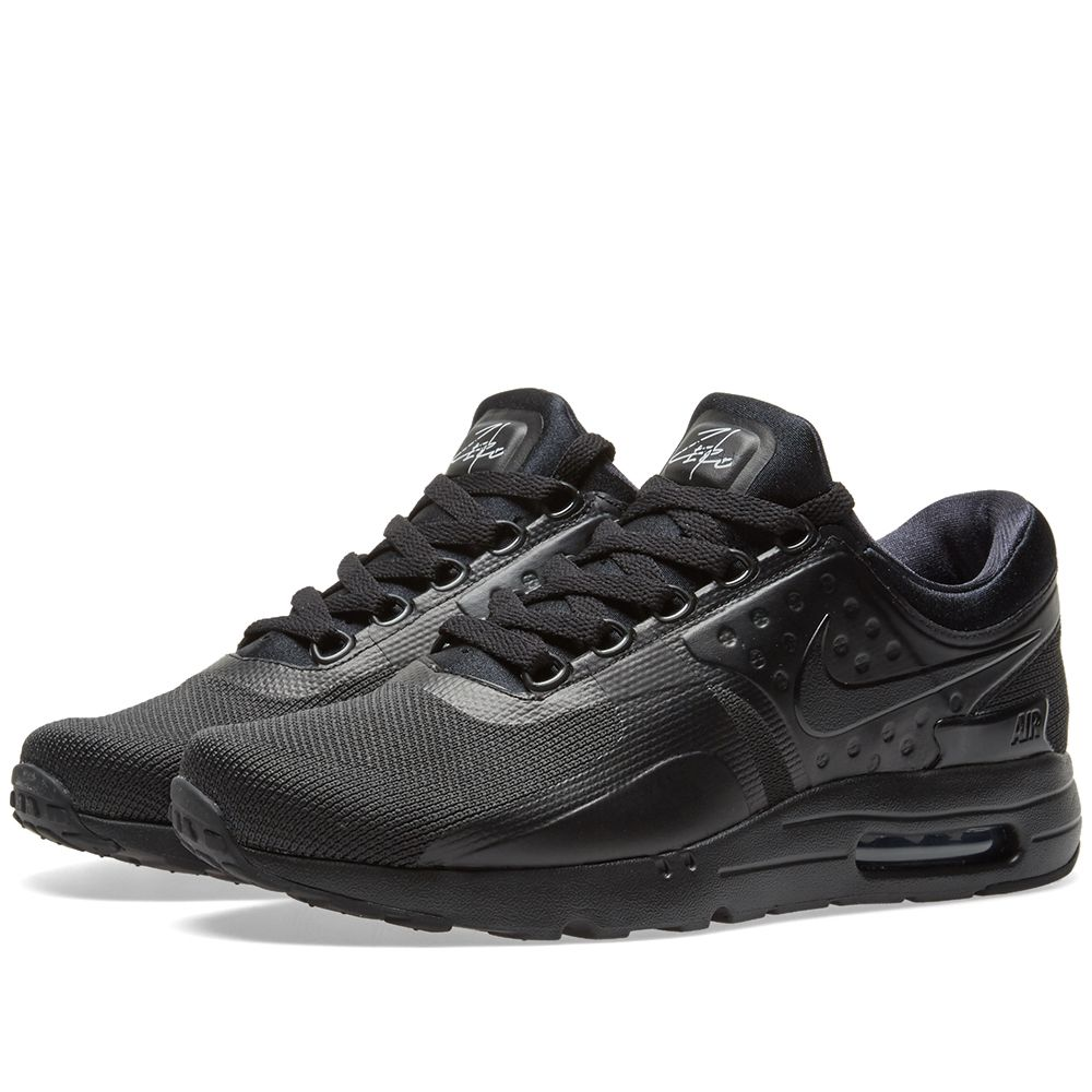 Nike Air Max Zero Essential. Triple Black. S 165 S 89. image 85aa2bad6dcc