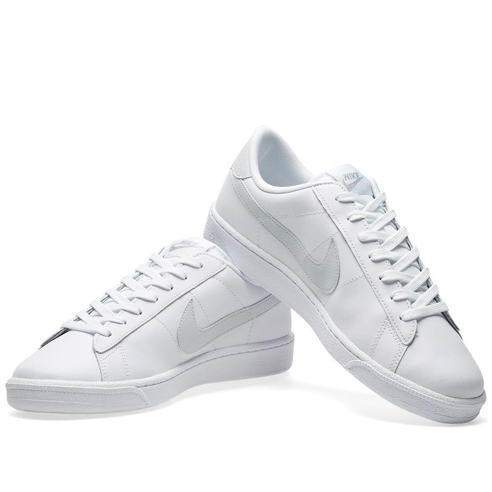 52e4a46b8340 Nike Tennis Classic CS White   Pure Platinum