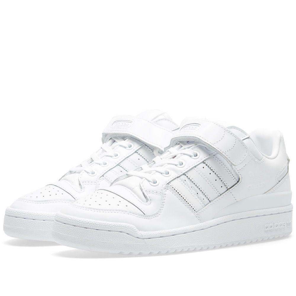 new concept 271e7 45602 Adidas Forum Lo Refined. White  Core Black. CA139 CA89. image