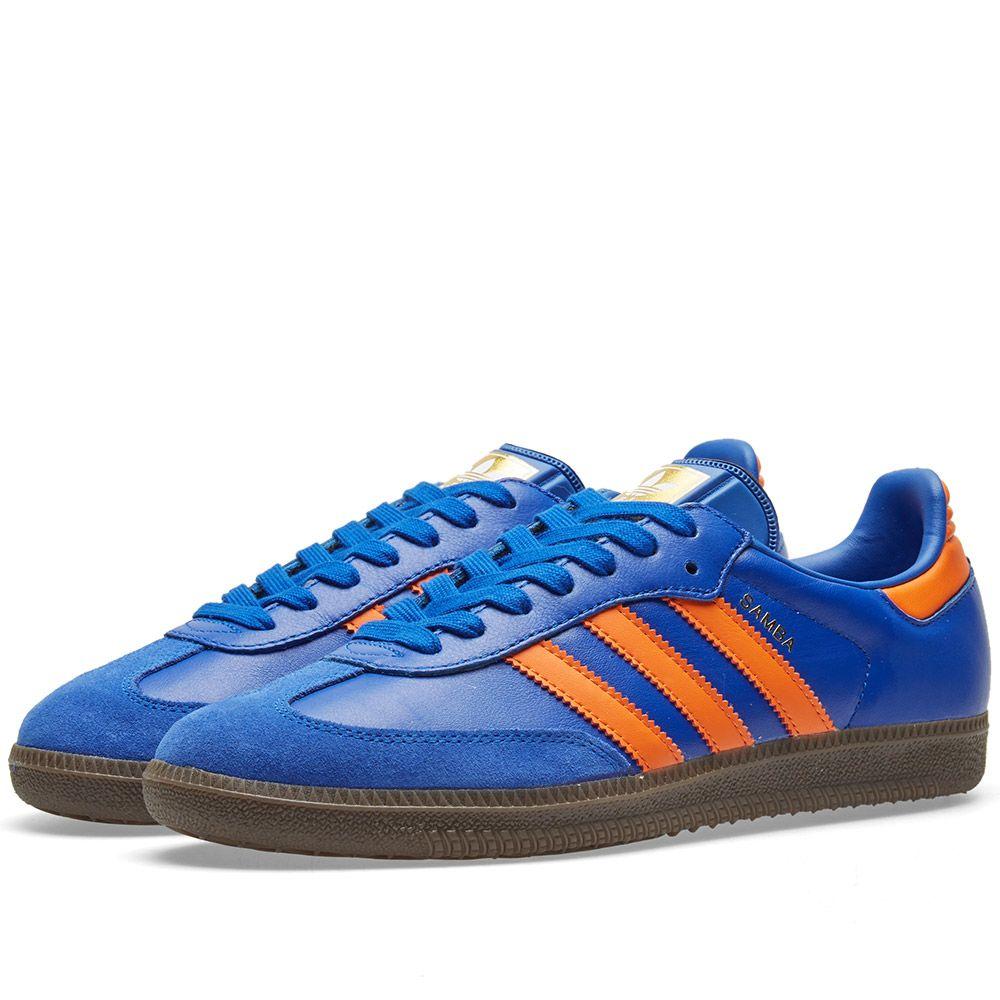 6320f78d099ef2 Adidas Samba Bold Blue