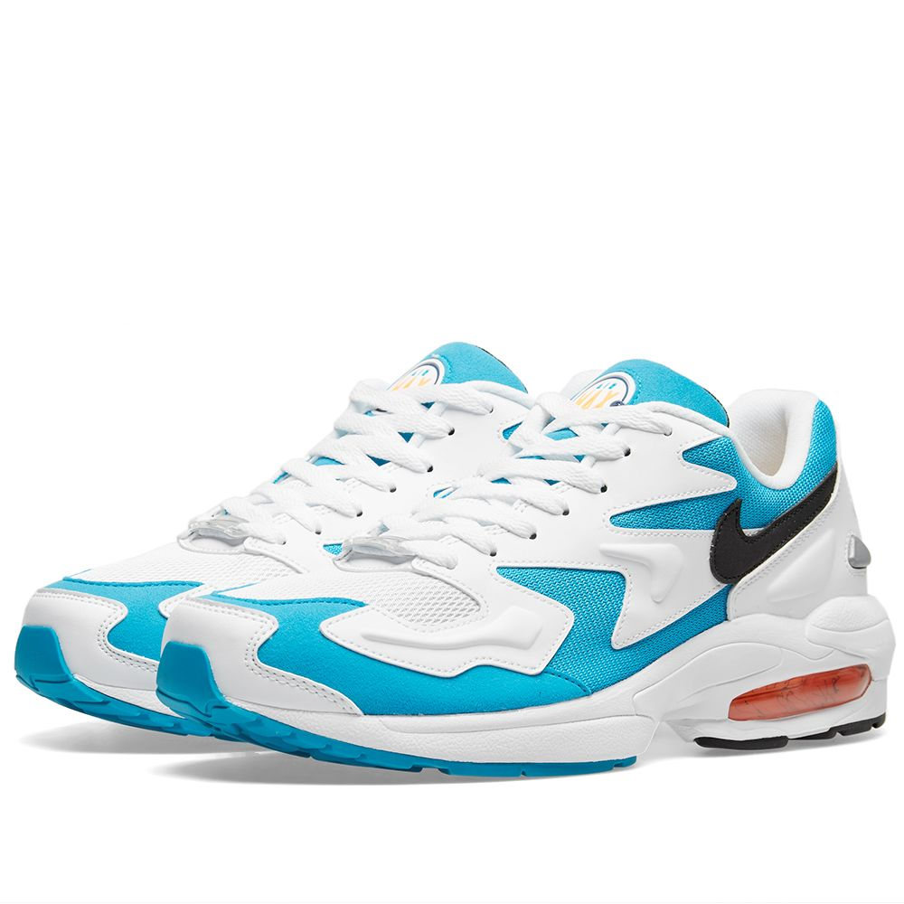 3475f46b48d0 Nike Air Max2 Light White