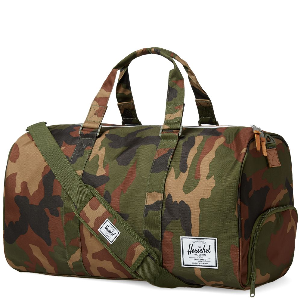 Herschel Supply Co. Novel Duffle Bag. Camo. CA 115 CA 75. Plus Free Shipping.  image 7a8aa8df16b89
