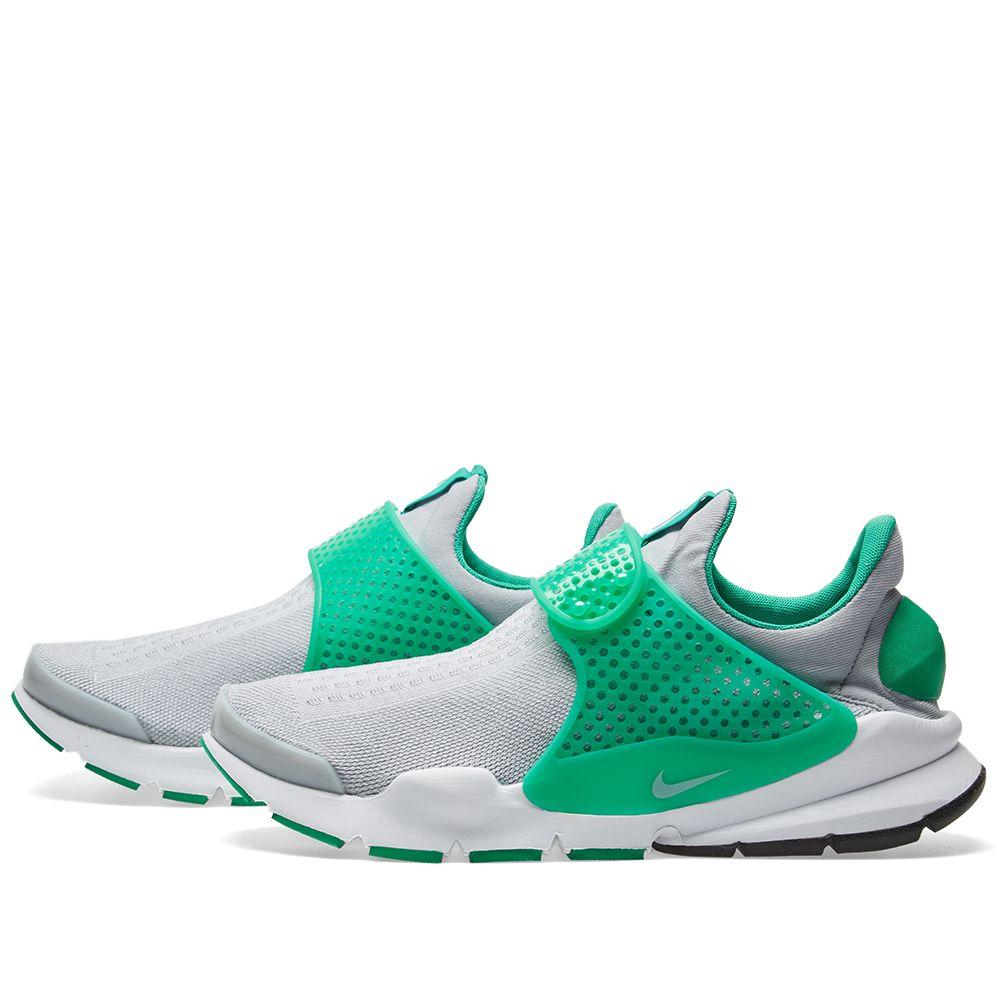 Nike Sock Dart Wolf Grey   Stadium Green  b210a349549af