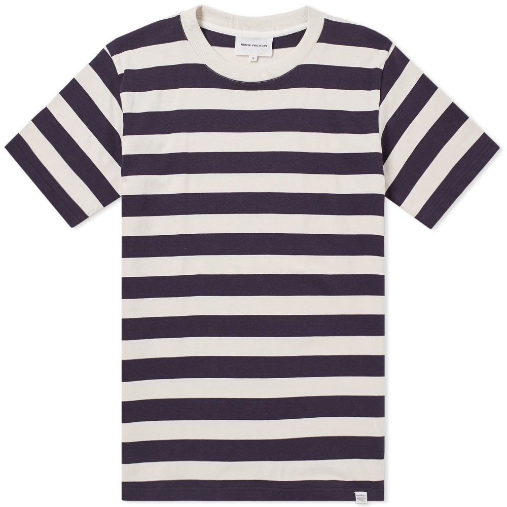 0029a4e4c852 Norse Projects James Rugby Stripe Tee Navy