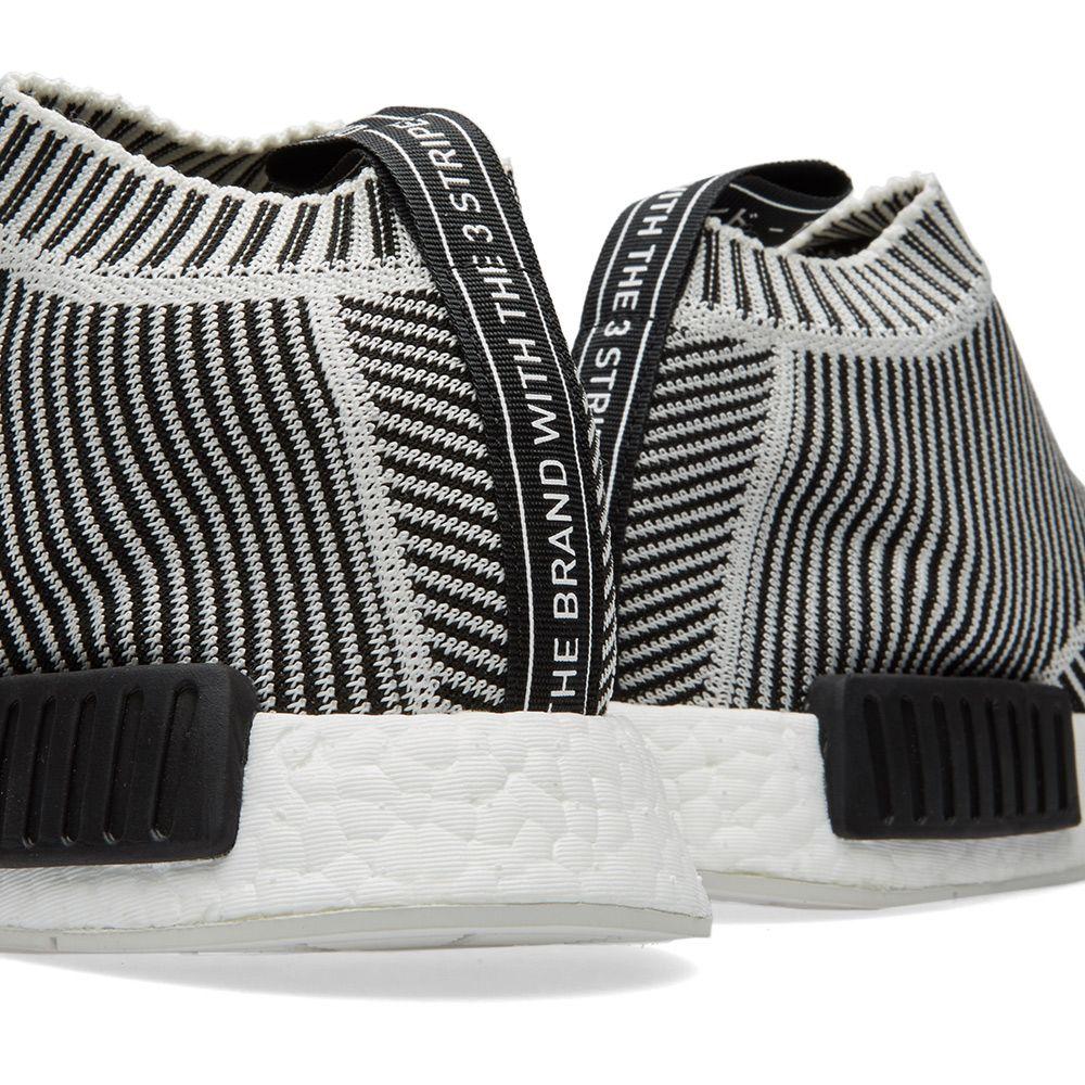 Adidas NMD City Sock PrimeKnit. Core Black   Vintage White. HK 1 92d89565a