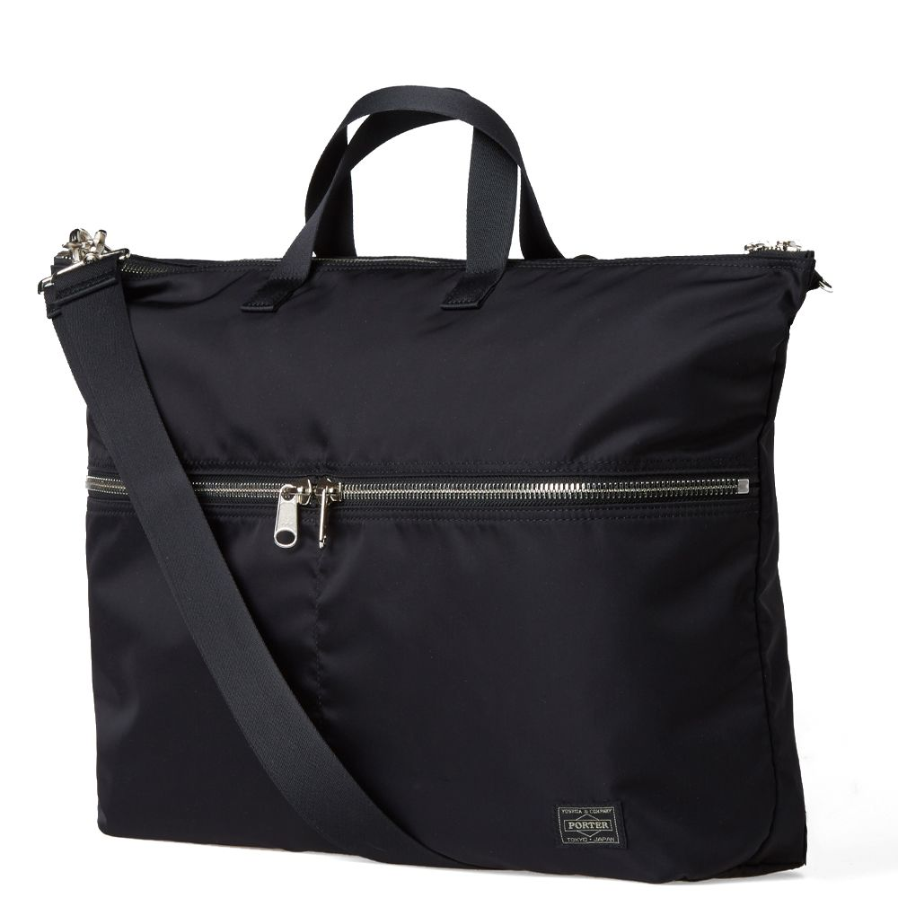 Head Porter U-Bahn 3-Way Tote Bag. Black.  399. Plus Free Shipping. image.  image. image. image. image 808994a043