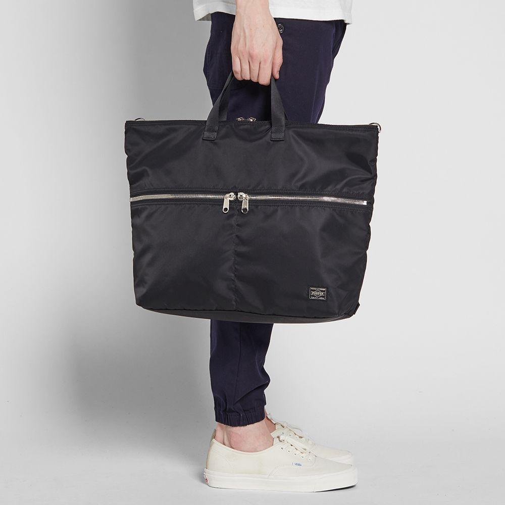Head Porter U-Bahn 3-Way Tote Bag. Black.  399. Plus Free Shipping. image 52b889022f