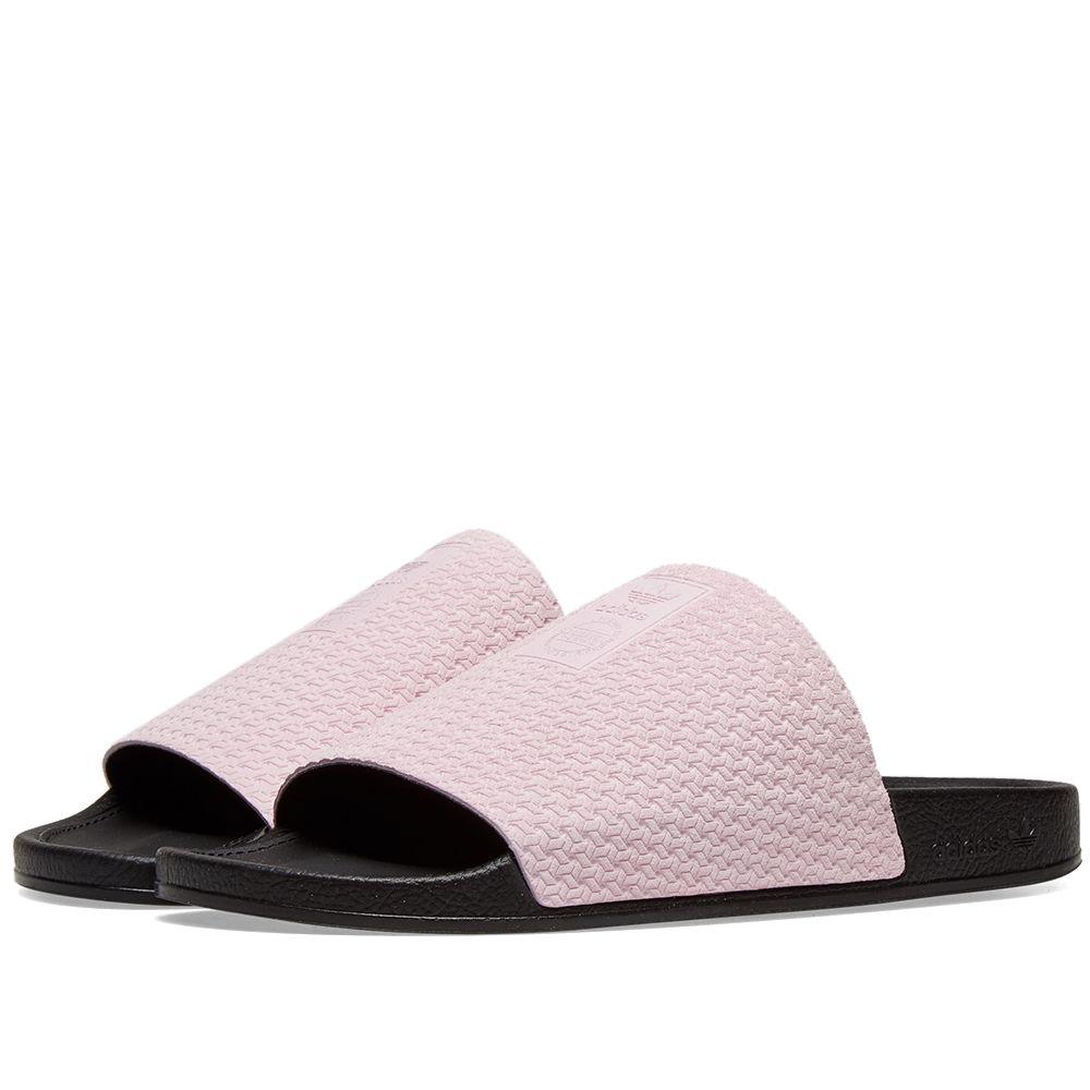 5d013b2784f4 Adidas Adilette Luxe W Clear Pink