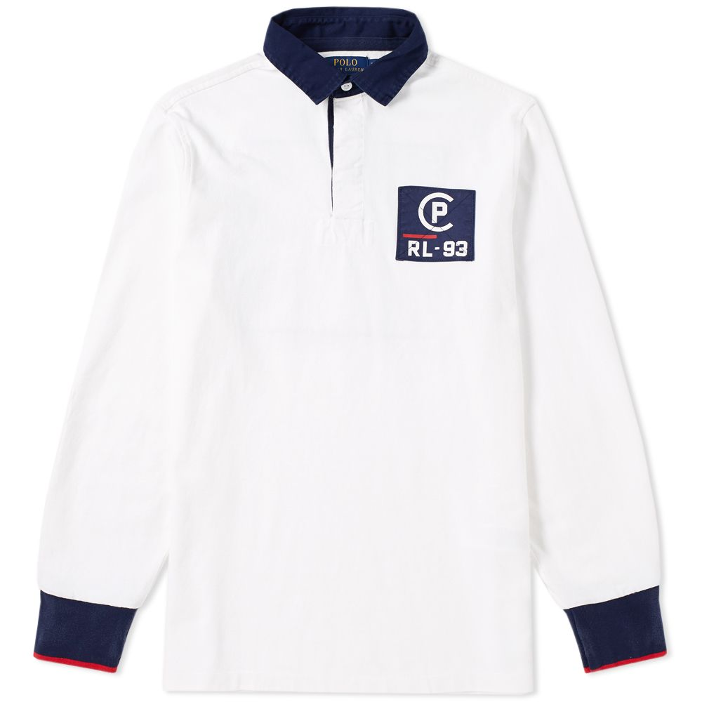 Polo Ralph Lauren Americas Cup Cp 93 Rugby Shirt White End