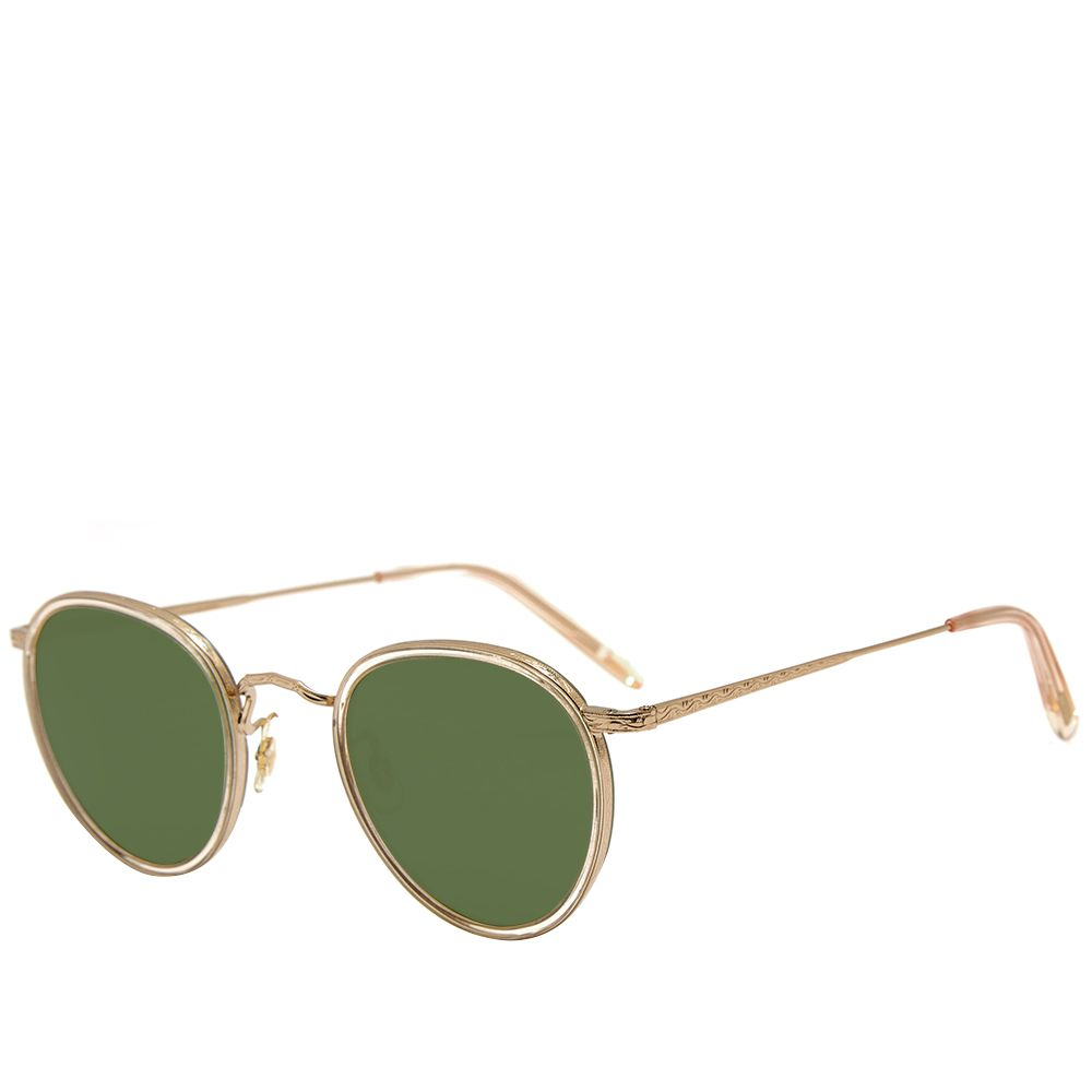 a02bd264e529 Oliver Peoples MP-2 Sunglasses Buff   Green