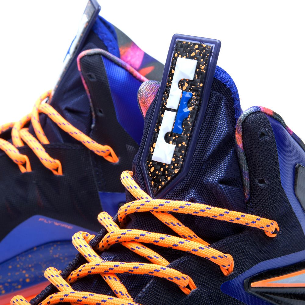 new styles bb6ae 52433 Nike Lebron X PS Elite  Superhero  - Hyper Blue   Pure Platinum ...