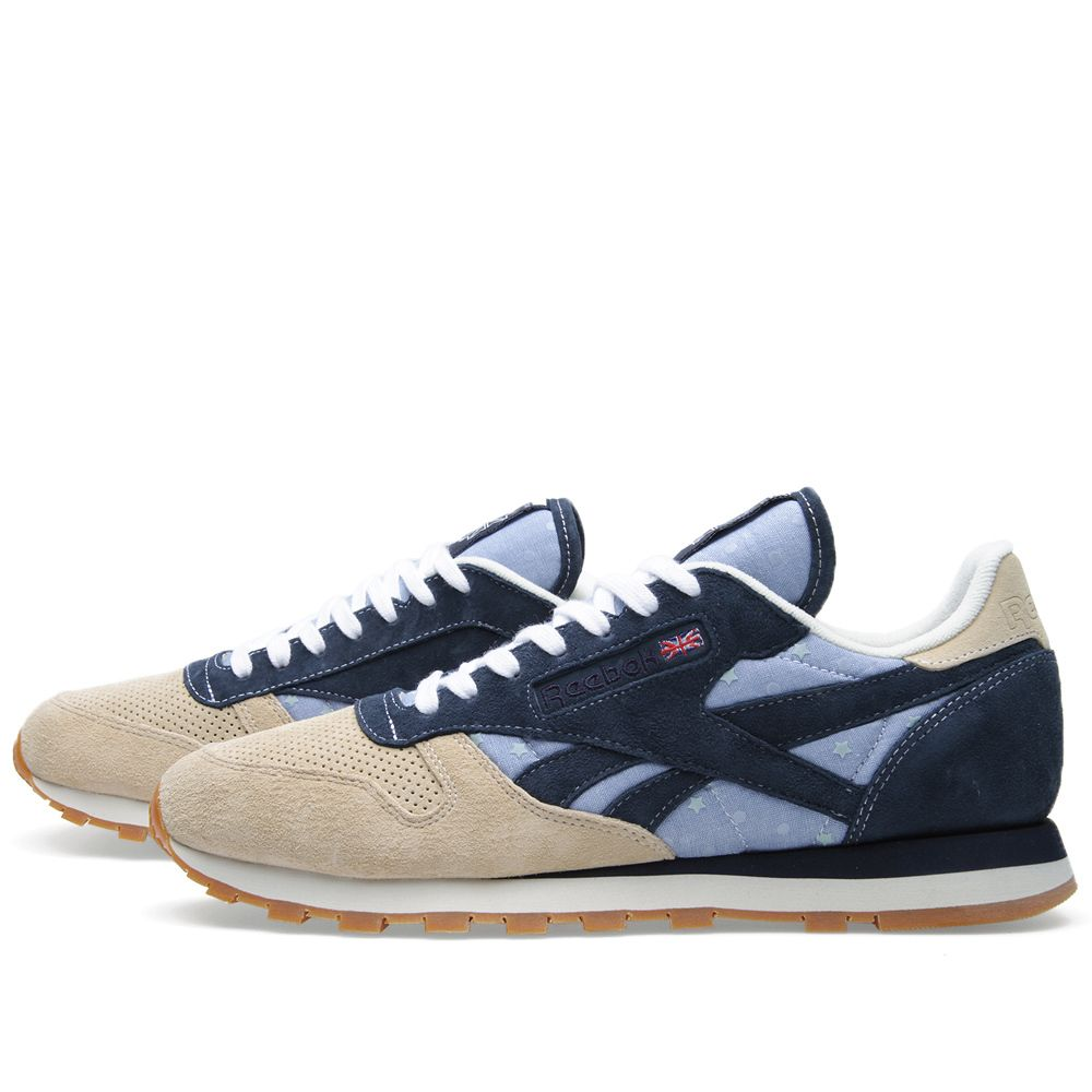 42e9b67cc3af Reebok x mita sneakers Classic Leather R12 Chino   Navy