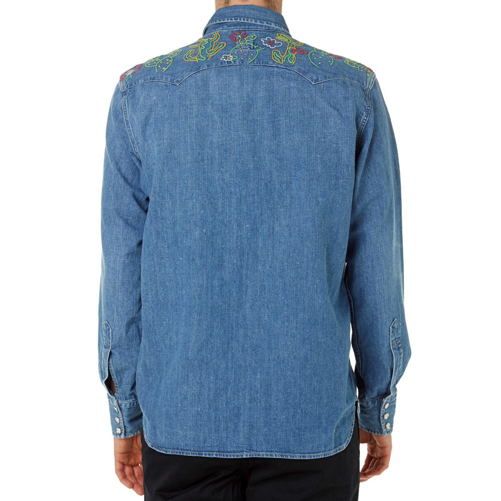 c7b3a41a homeLevi's Vintage 1955 Sawtooth Denim Shirt. image. image. image. image.  image. image. image. image