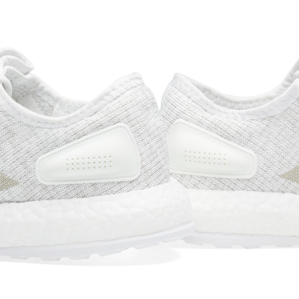 24fd3b644 Adidas Pure Boost White   Grey