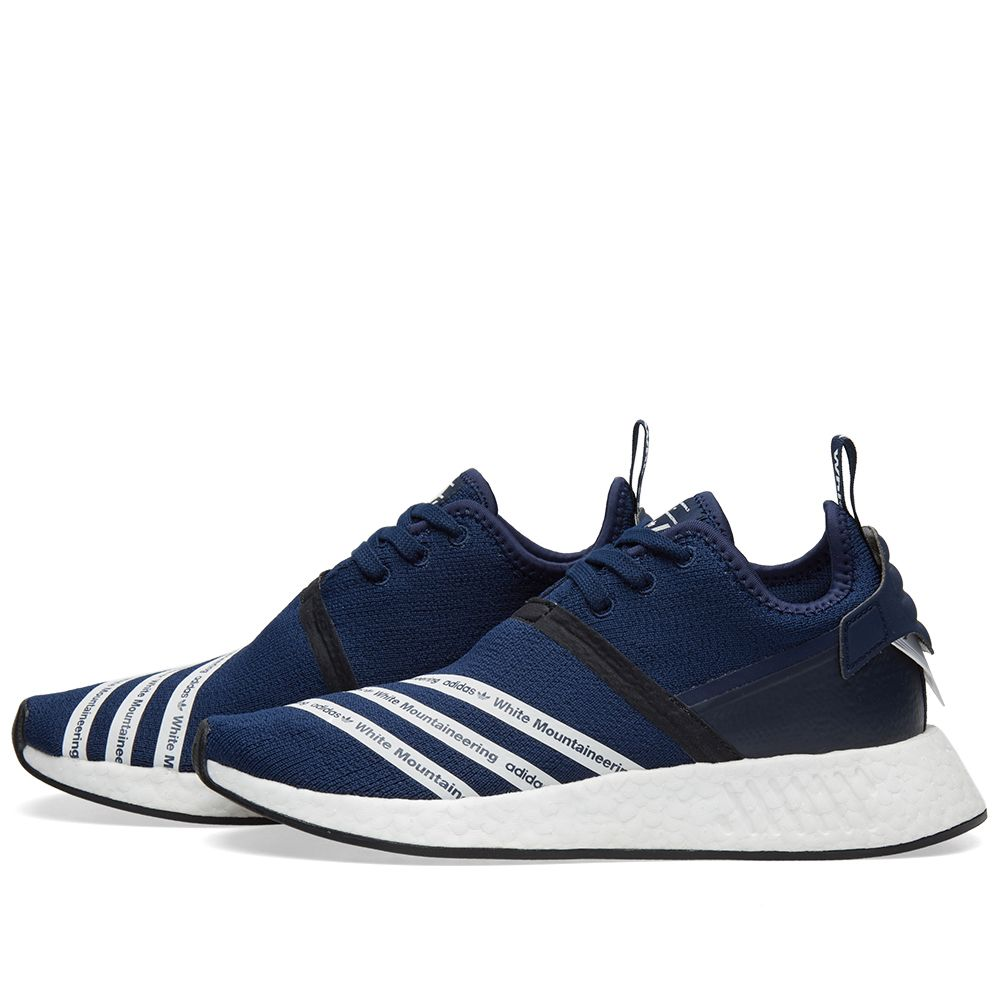 fc3f2a2a62bf7 Adidas x White Mountaineering NMD R2 PK Collegiate Navy   White