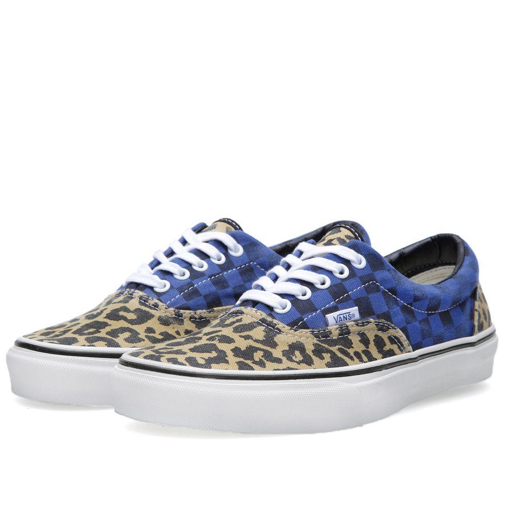 Vans Era Van Doren Leopard   Checker  30fb28d54e26