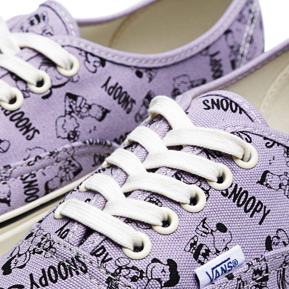 d5ec7c4c3c Vans Vault OG Authentic LX  Snoopy   the Gang  Lavender Aura