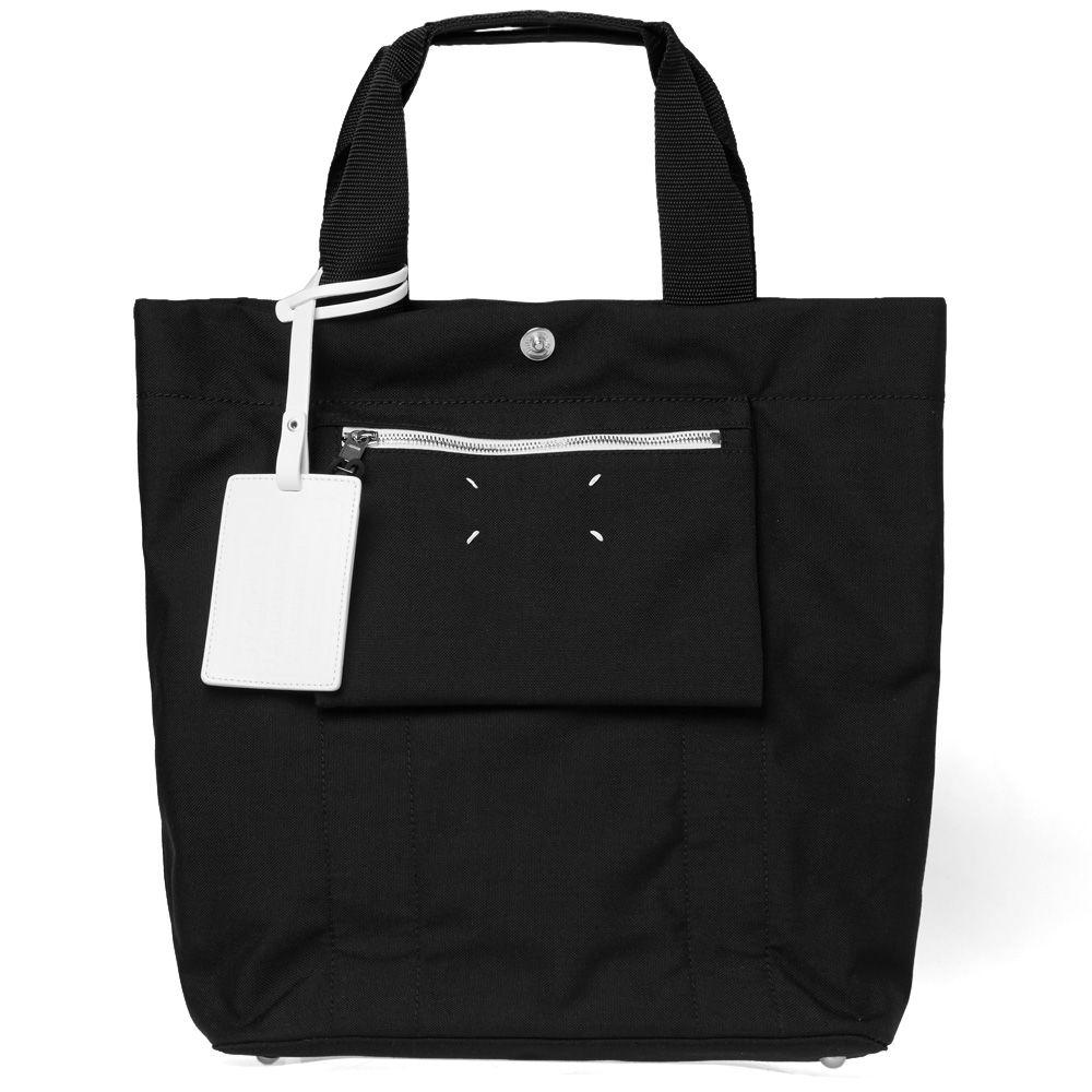 d529c7ec7c181 Maison Margiela 11 Cordura Reverse Tote Bag Black