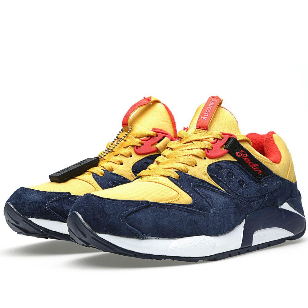 3dd0055e7630 Saucony x Packer Shoes x Just Blaze Grid 9000  Snow Beach  Yellow ...