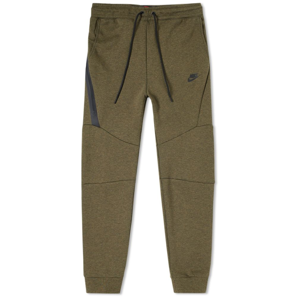 Nike Tech Fleece Jogger Medium Olive Heather   Black  ab6a1f26f