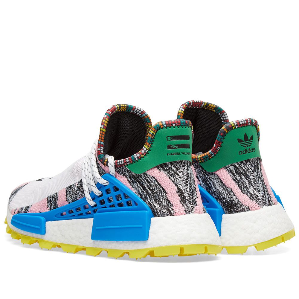 0a68383ca5f Adidas Originals by Pharrell Williams SOLARHU NMD Red