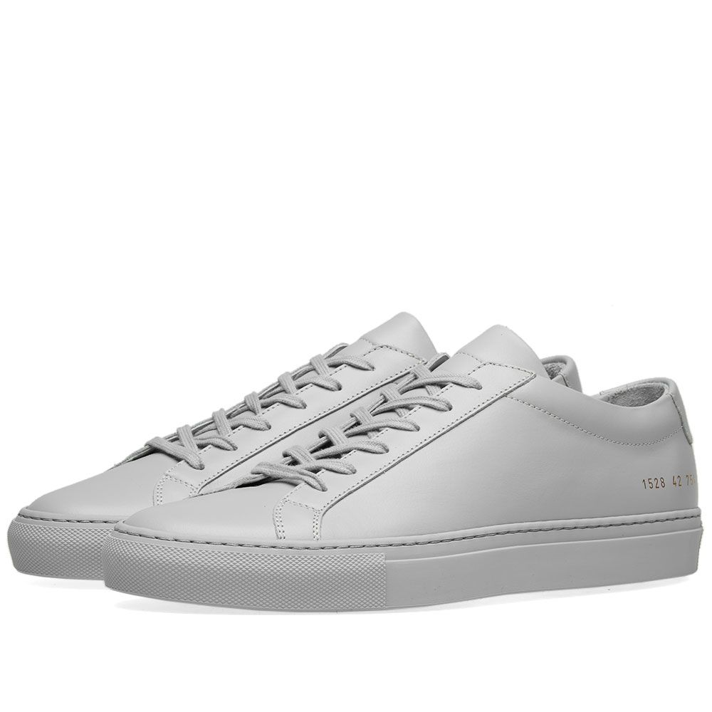 ba8e0f058e535 Common Projects Original Achilles Low Grey