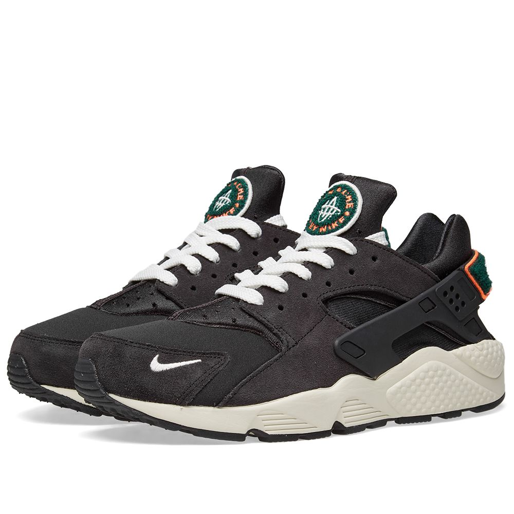 new arrivals a23ee 93553 Nike Air Huarache Run Premium Grey, Sail  Rainforest  END.