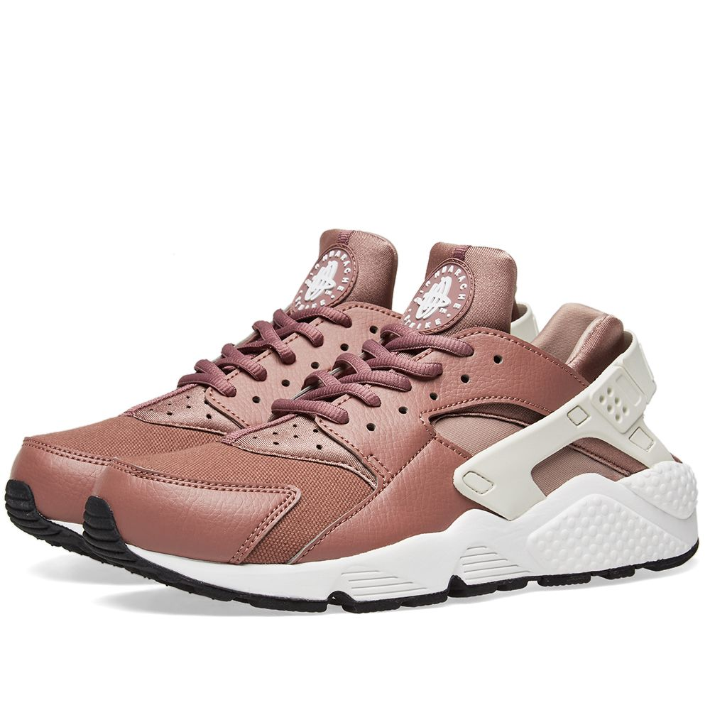 sports shoes f0e9f efab8 Nike Air Huarache Run W Mauve, White, Taupe  Black  END.