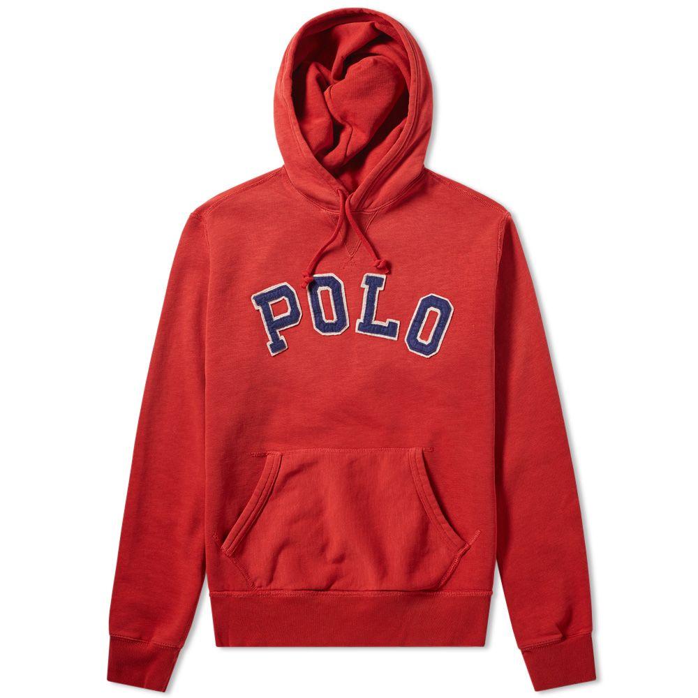 032233b5b Polo Ralph Lauren Collegiate Popover Hoody Red Beret