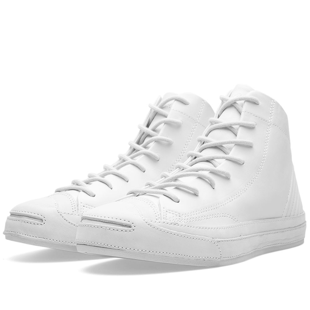 286183d8ca0 Converse Jack Purcell Mid Quilt  Motorcycle  QS White