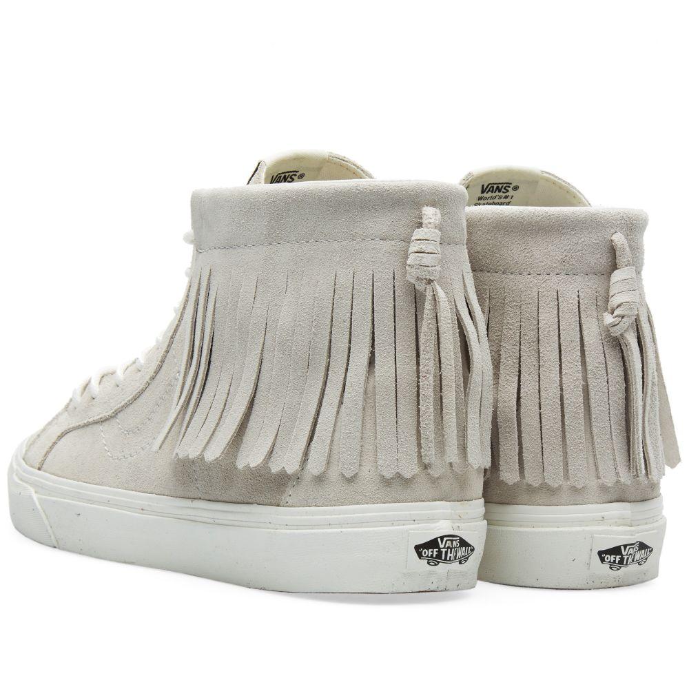 6af5f1dbbb15a7 Vans Sk8-Hi Moc Blanc de Blanc