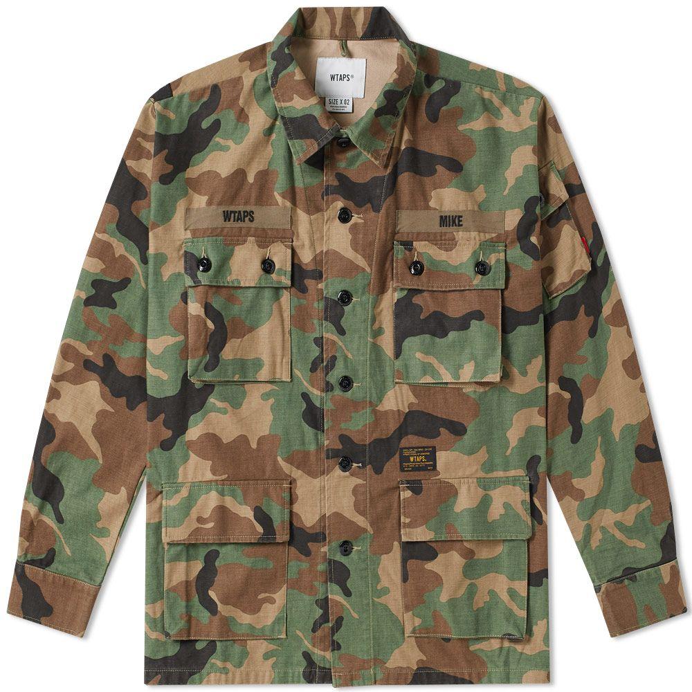 fcd1ef94692db0 WTAPS Jungle Shirt Woodland