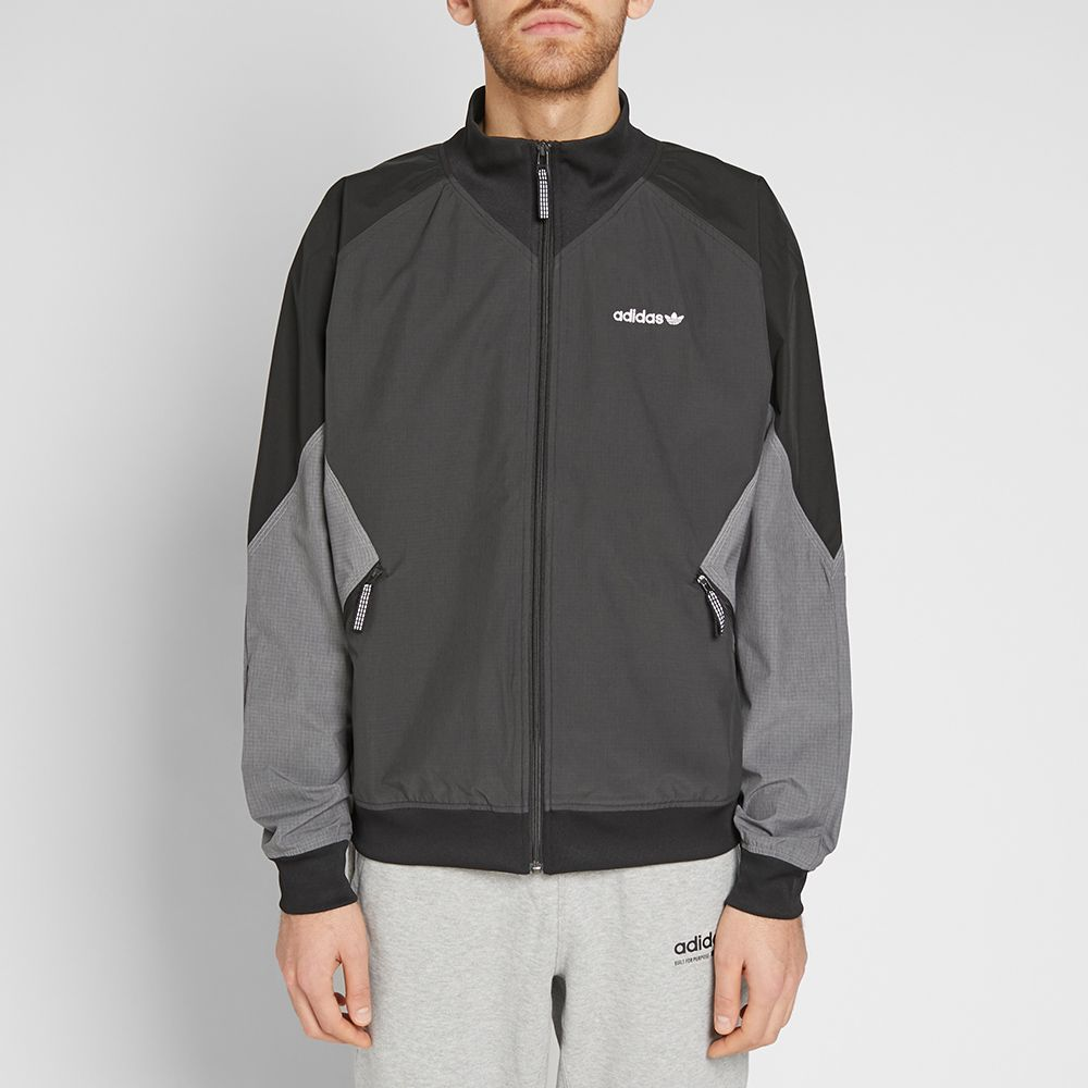 976aba84854ae Adidas EQT Woven Ripstop Jacket Carbon