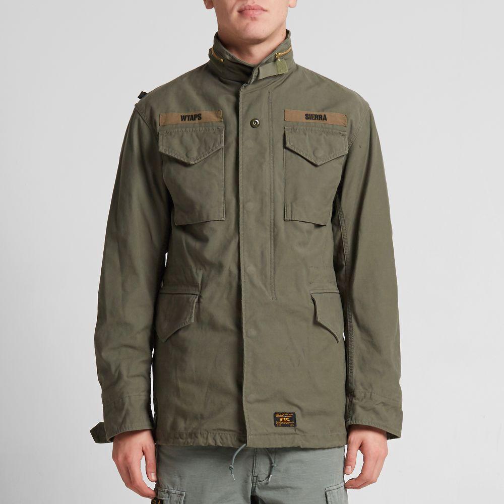 561b8e78a19 WTAPS M-65 Jacket Olive Drab