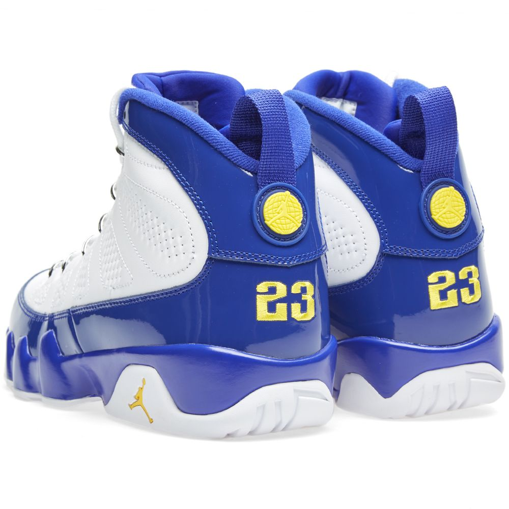 dabb30eede9a Nike Air Jordan 9 Retro  Tour Yellow  White