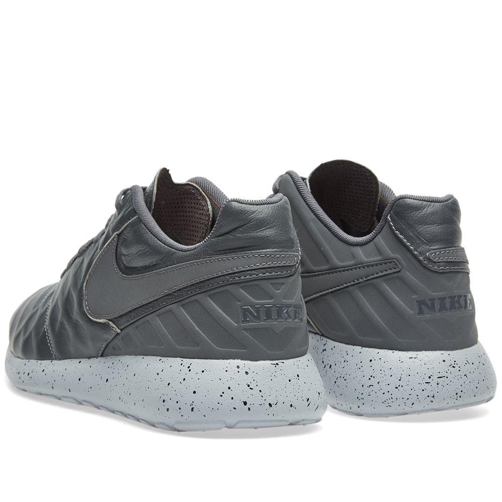 093bdfb64a0fc Nike Roshe Tiempo VI Dark Grey   Wolf Grey