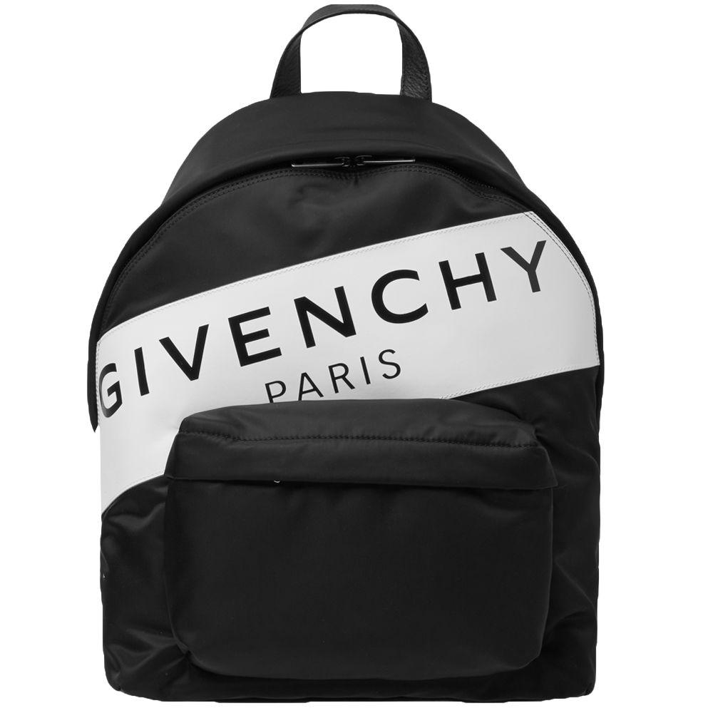Givenchy Band Logo Backpack. Black   White. AU 1 15d7029371cfc