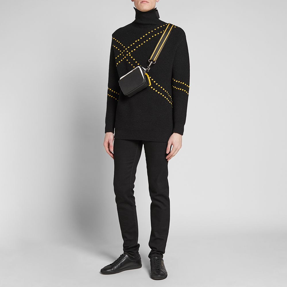 Givenchy MC3 Crossbody Bag. Black   Yellow.  1,075. Plus Free Shipping.  image. image. image. image. image. image. image a59c36a636