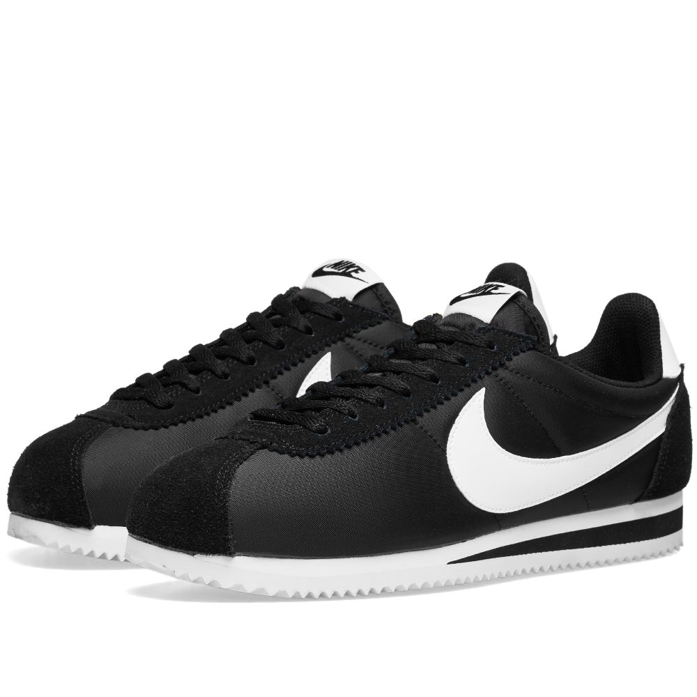 check out 44376 023c0 Nike Classic Cortez Nylon OG Black  White  END.